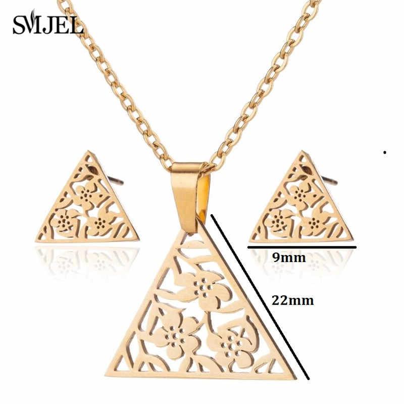 Smjel aço inoxidável borboleta colares feminino jóias de ouro adorável bonito animal natal colares 2019 para crianças presentes