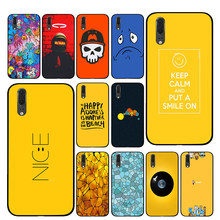 Happy beach Luxury Cases Cover For Huawei P30 P20 P10 Mate 10 20 Pro Lite(China)