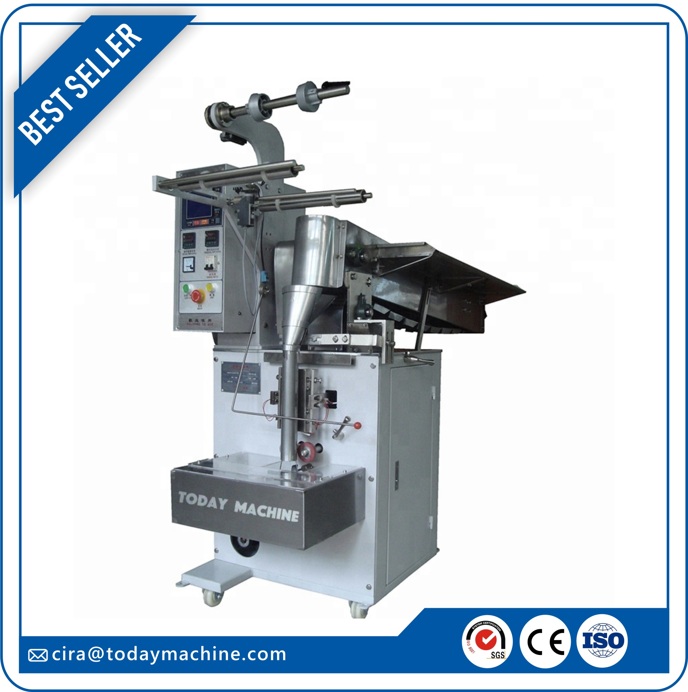 Automatic Irregular Shape Filling Sealing Sachet Packaging Machine