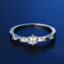 Fashion White Gold Color Wedding Rings for Women AAA Austrlia Engagement Finger Ring 2020 New Arrivals Female Bijoux Gifts ф шуберт 36 оригинальных танца d 365