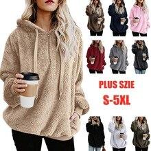 Winter Warm Women Hoodies Sweatshirts Dr