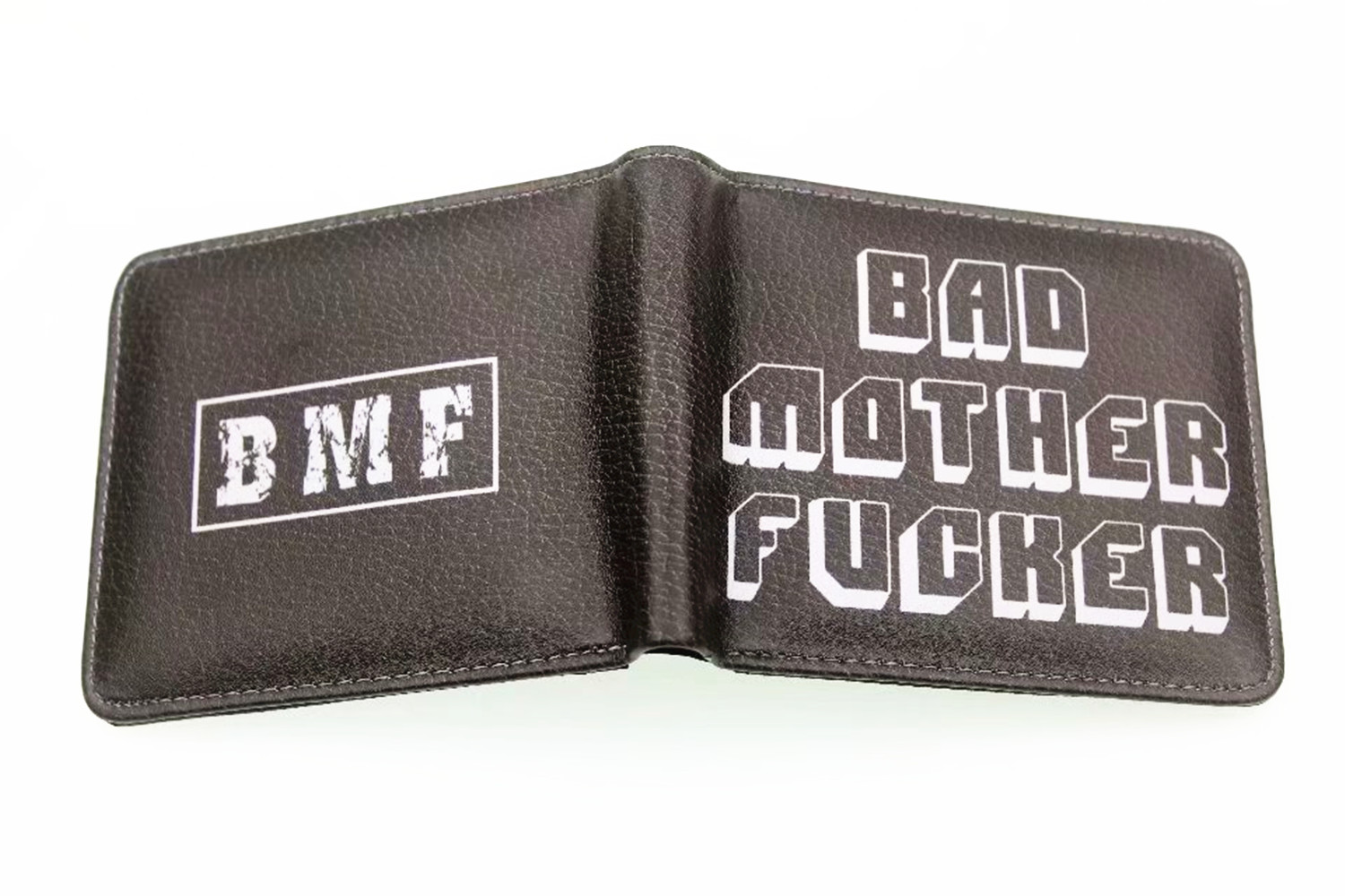 Pulp Fiction Men Faux Leather Wallet Coin Purse Unisex Wallets ID/Credit Card Holder