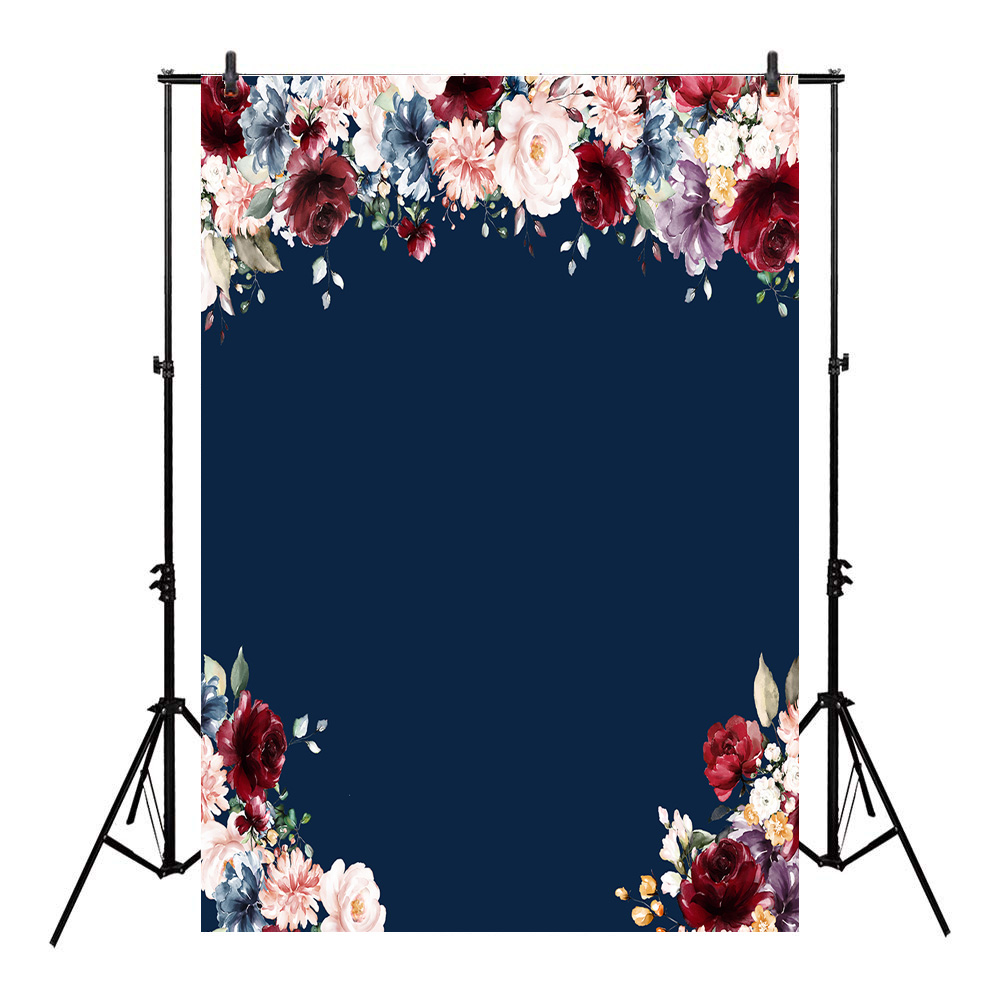Neoback Flower Backdrop For Photography Birthday Newborn Photo