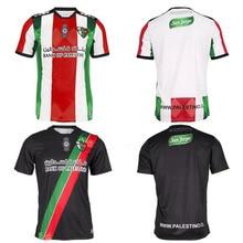 Shirt Tracksuit Camisa Futbol Maillot-De-Foot-Palestine Palestino Black Running Survetement