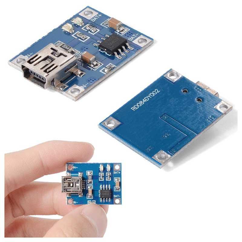 5X5 V Mini USB 1A płytka ładująca baterię litową liniowa płytka ładująca TP4056 TE106