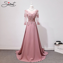 Ollymurs Evening Dress Female Foreign Trade Source 2019 New Banquet Temperament Queen Ladies Word Shoulder Fairy Toast Clothing.