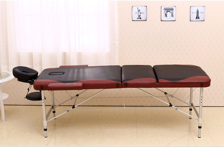 【Free Shipping~aluminum Thickening Folding Foot Massage Bed
