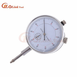 Accuracy Tool 0.01mm Dial Test 0-10mm Indicator Dial Test Indicator Gauge Round Dial Indicator Micrometre Dial Gauge Micrometer