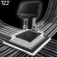 Microscopio Digital TZT AD407 Andonstar para HDMI 270X 4MP efecto 3D Monitor de Pie ajustable pantalla LED de 7 pulgadas