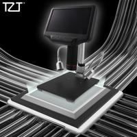 TZT AD407 Andonstar Digital Microscope for HDMI 270X 4MP 3D Effect Adjustable Stand Monitor 7 Screen LEDs