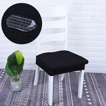 Solid Removable Elastic Stretch Seat Chair Cover Slipcover Dining Room Stool Kitchen Decoration suit 35cm - 48cm
