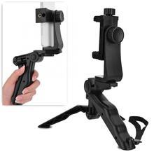 Ручной Стабилизатор для рукоятки мини штатив для селфи ручка с держателем для телефона кронштейн для смартфонов iPhone Samsung Android