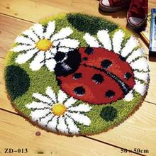 Yarn Segment DIY Embroidered Seat Cushion Carpet Embroidered Mat Thick Wool Handmade 1(China)