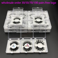 MIKIWI Wholesale Order 5D Mink lashes Custom Packaging Label Lashes with silver glitter Natural Long Thick Volume Mink EyeLash