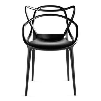 Backrest Household Plastic American Chair Backrest Adult Stool Backrest Modern Simple Nordic European Dining Chair