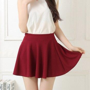 Skirt women summer anti-glare skirt casual large size women's high waist skirt short skirt pleated skirt womens  boutique skirt moe skirt