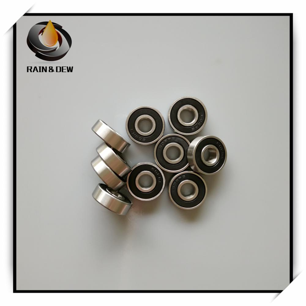 10Pcs 608RS Ball Bearing 8*22*7 mm ABEC-7 bearings skateboard 608 image