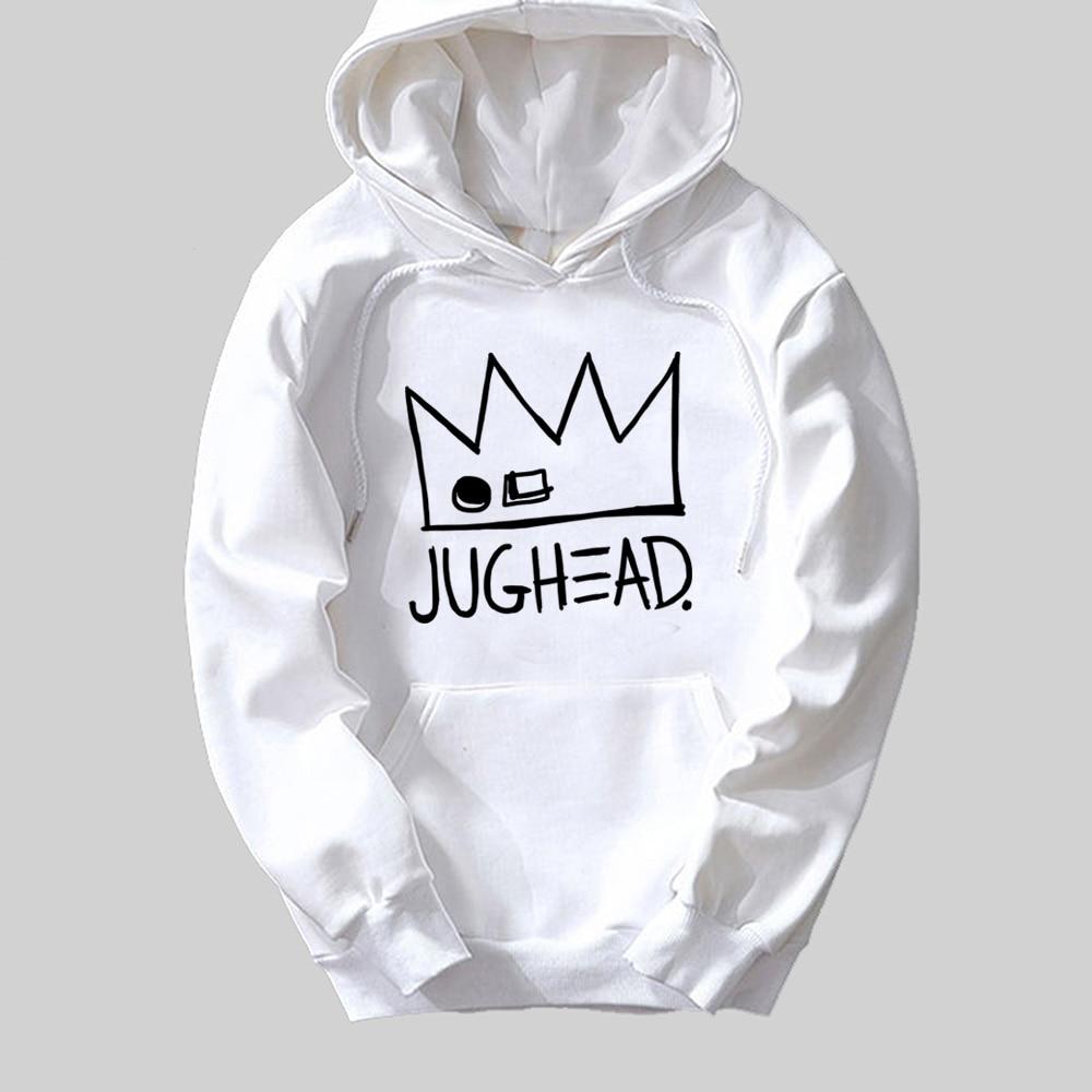 Jughead Jones Crown South Side Serpents Riverdale Girl Woman Hoodie Autumn Winter Fleece Couple Clothes ZIIART 10