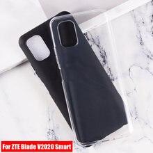 Умные Чехлы JONSNOW чехол для телефона ZTE Blade V2020, противоскользящие мягкие силиконовые чехлы