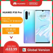 "Global Version Huawei P30 Pro 8GB 256GB Kirin 980 Octa Core Smartphone 50x Digital Zoom Quad Camera 6.47"" Full Screen OLED NFC"