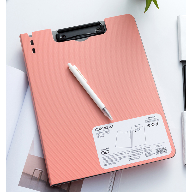 A4 Paper Multifunction Writing Clip Office Stationery Nursing Clipboard With Storage Student Writing Pad Storage Learn Supplies