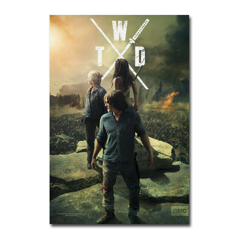Star Wars The Rise Of Skywalker Movie Art Canvas Silk Poster Print 32x48 inch
