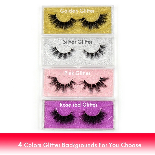 LEHUAMAO Luxury 5D Mink Hair False Eyelashes Wispy Cross natural Mink Lashes Extension Tools Makeup Handmade Mink Eyelashes A04 5
