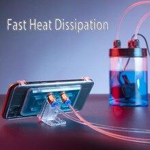 新しいpubgゲームパッド電話クーラー携帯水冷却パッドポータブルラジエーターcoolerpad冷却ファンアンドロイドiphoneスマートフォンファン