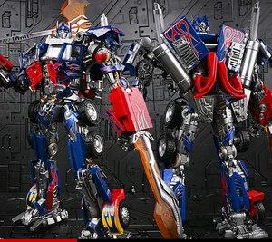Image 3 - WJ Robot transformable MPM04 MPM 04, manzana negra, W8606, Comandante OP, Dios por la guerra, de gran tamaño, modelo de figura de acción