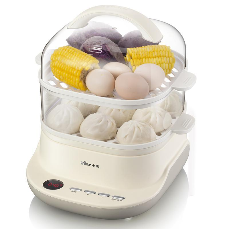 Electric Steamer Food Steamer Multi-Function Home Small Large-Capacity Double-Layer Steamer  Rice