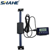 0-150mm Digitale lineare skala mit remote display Digitale Anzeige lineare Skala Externe Display linearen lineal mit Basis