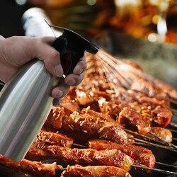 Pulvérisateur d'huile d'olive, vaporisateur de vinaigre, Barbecue bouteille de pulvérisation de Marinade pour cuisine maison, pique-nique en plein air, accessoire Barbecue