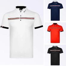 T-Shirt Sportswear Jersey Golf Short-Sleeved Summer New And Men Quick-Drying Outdoor