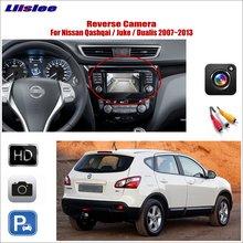 Tylna tylna kamera cofania samochodu dla Nissan Qashqai Juke Dualis 2007-2013 oryginalne fabryczne parkowanie HD CCD CAM tanie tanio Liislee CN (pochodzenie) Plastikowe + Szkło Drutu Pojazd backup kamery Z tworzywa sztucznego