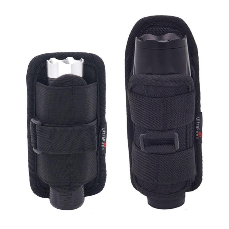 Flashlight Holster Baton Holder Nylon Duty Flashlight Holder Belt Carry Case For Tactical Flashlights *