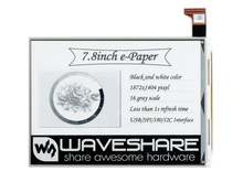 Waveshare 78 дюймовый e ink raw дисплей параллельный порт разрешение