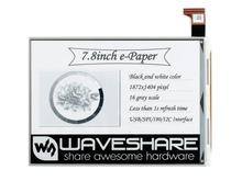 Waveshare 7.8inch E-Ink raw display, parallel port, 1872*1404 resolution,supports partial refresh,7,8 дюймовый E-Ink raw дисплей 2 13 inch e paper module 212 104 e ink display screen spi wide viewing angle supports partial refresh