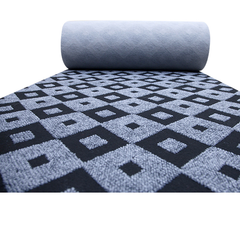Thickened Jacquard Carpet Full Shop Corridor Office Home Living Room Stitching Billiard Hall Beauty Salon Pattern Carpet