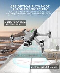 Image 4 - L109 Drone GPS kamera 4K HD 5G WIFI FPV bezszczotkowy silnik składany Selfie drony profesjonalny 1000m długodystansowy RC Quadcopter