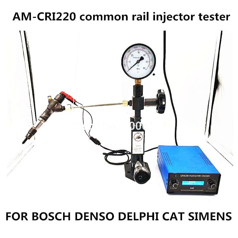 FÜR BOSCH DENSO DELPHI KATZE AM-CRI220 Common Rail Injektor Tester Reparatur Werkzeuge