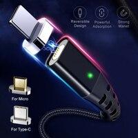 GETIHU 2m cavo magnetico Micro USB tipo C caricatore rapido magnete data cavo telefono carica per iPhone 12 11 8 Xiaomi Mi Huawei Samsung