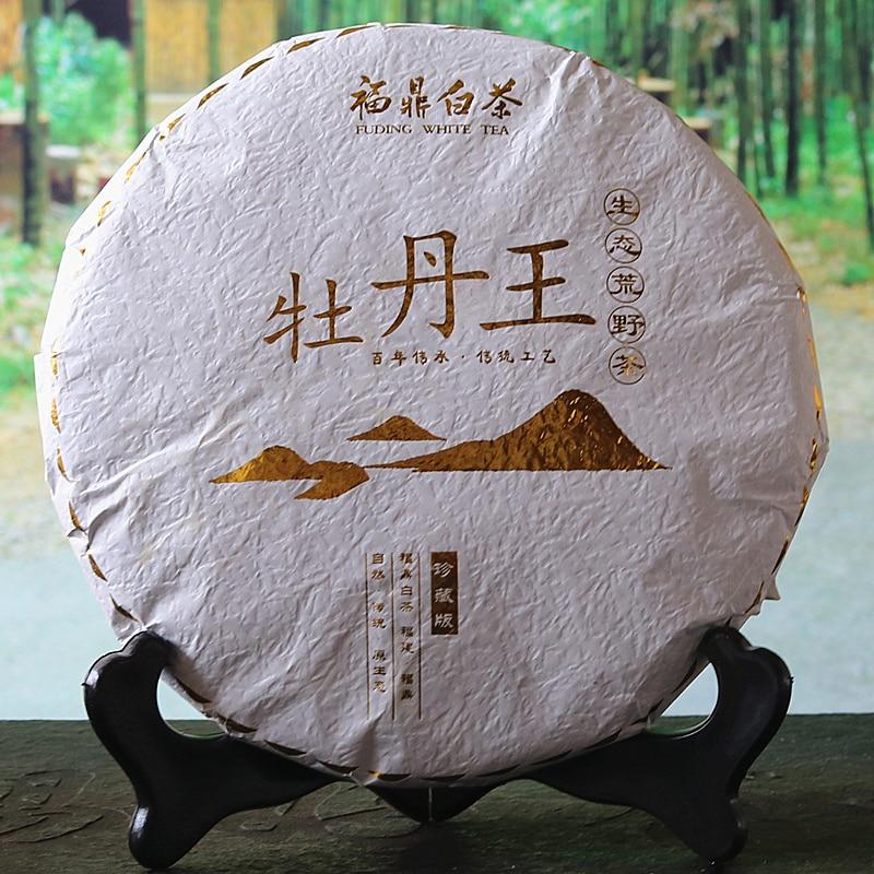 300g High Quality White Tea 5A Chinese Fujian Fuding White Peony Tea Wild Old White Tea Green Food Lowering Blood Pressure Tea