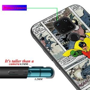Image 4 - Black Soft Marvel Comic For Huawei P Smart 2021 2020 Z S Mate 40 RS 30 20 20X 10 Pro Plus Lite 2019 Phone Case