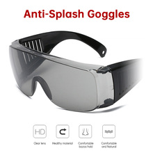 Safety Protective Glasses Eye Protection Anti splash Goggles Impact Resistant Safety Goggles for spittle Multi function protect