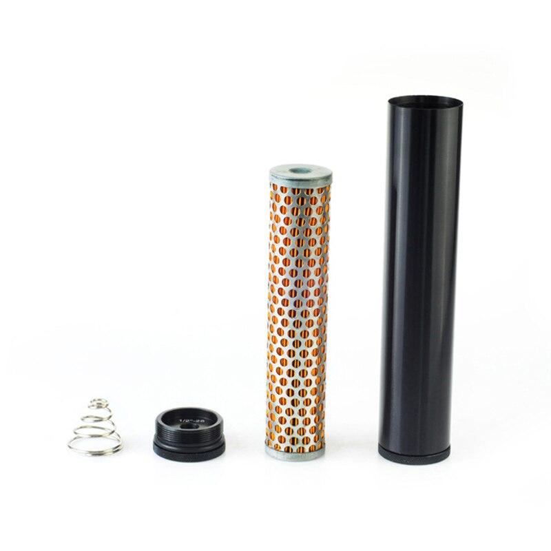"NEW Billet Aluminum fuel filter  Turbo Air Filter FOR Napa 4003 WIX 24003 Fuel Filter 1/2"" 28 & 1/2"" 20 FF 03 BK"
