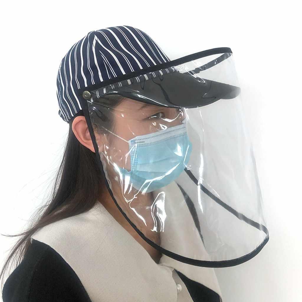 2020 новая бейсболка, защита от пятки, пылезащитный чехол для взрослых, полосатая Кепка, шапка Chapeu Feminino Verao