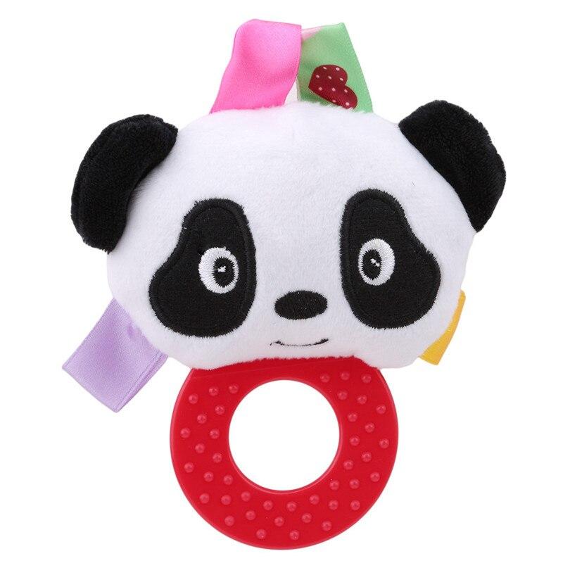Chocalhos brinquedo recém-nascido handbell anéis da criança