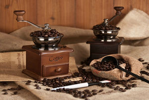 Image 4 - Moulin à café, poivre et épices à main en métal, à manivelle manuelle Vintage, 2020