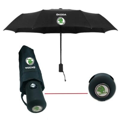 Car-Umbrella Kodiaq Superb Rapid Octavia Skoda Smart For Peko Fabia New Crystal Three-Color