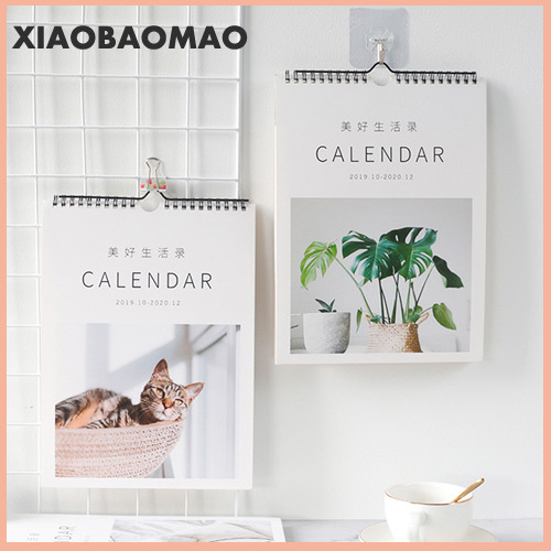 1PC Wall 2020 Calendar Agenda 365 Days Daily Planner Notes To Do List Tearable Desk Calendar Decoration Creative Calendar